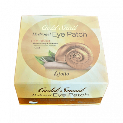 PARCHES OJOS GOLD SNAIL